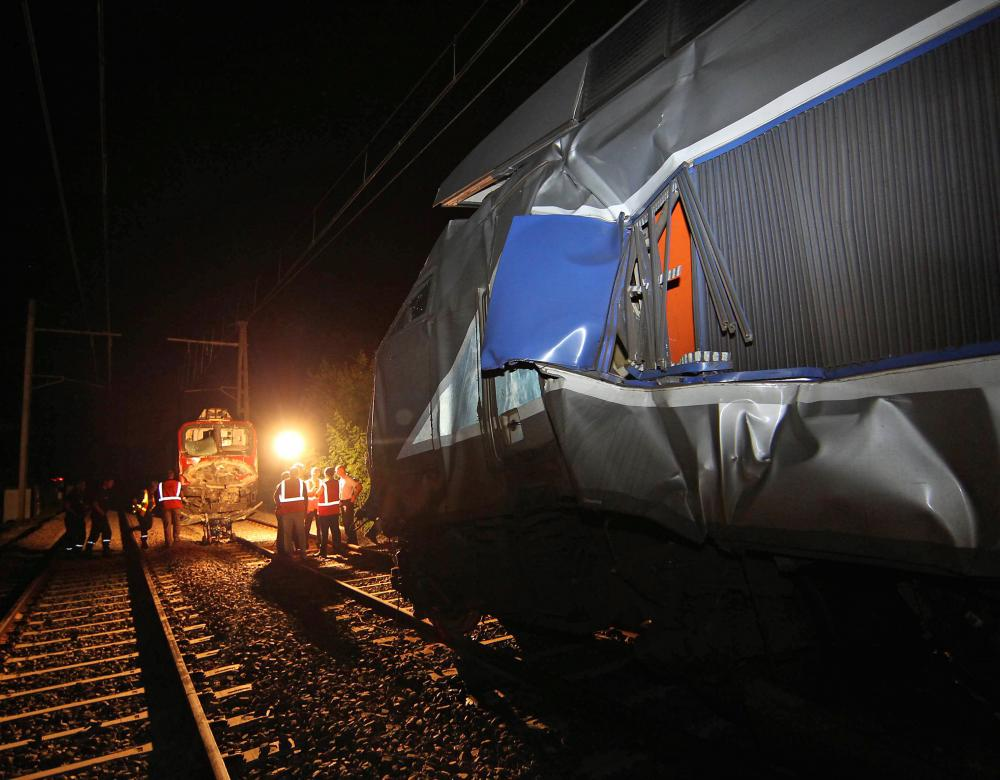 Rail accident of rats
