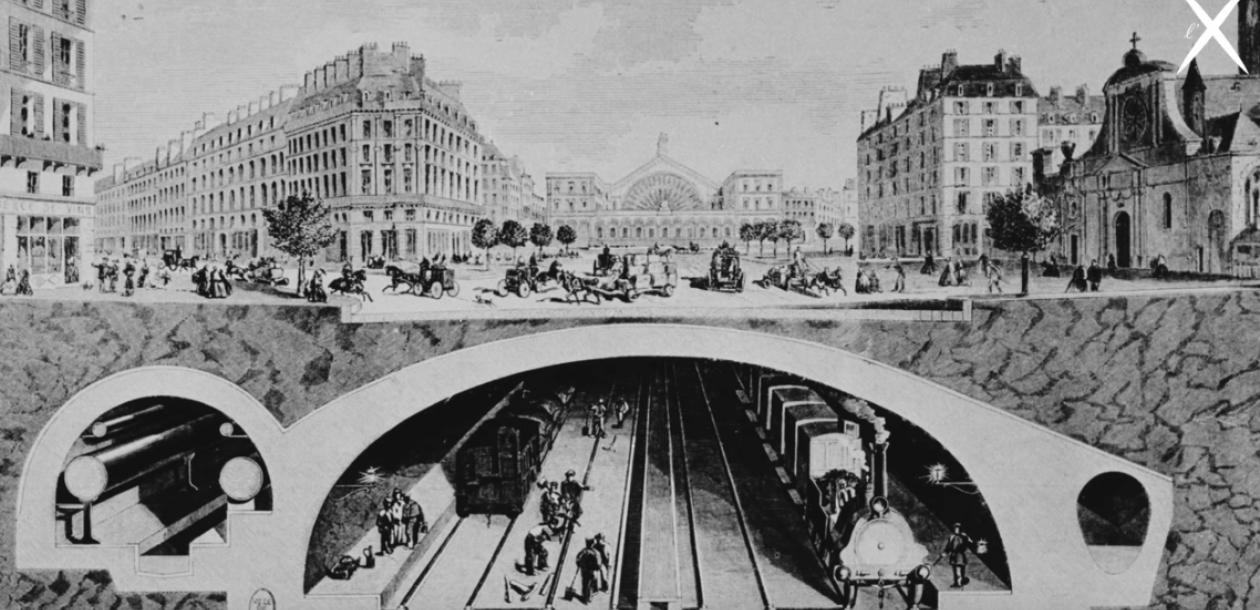Fulgence Bienvenüe, l'inventeur du métro | Le blob, l'extra-média