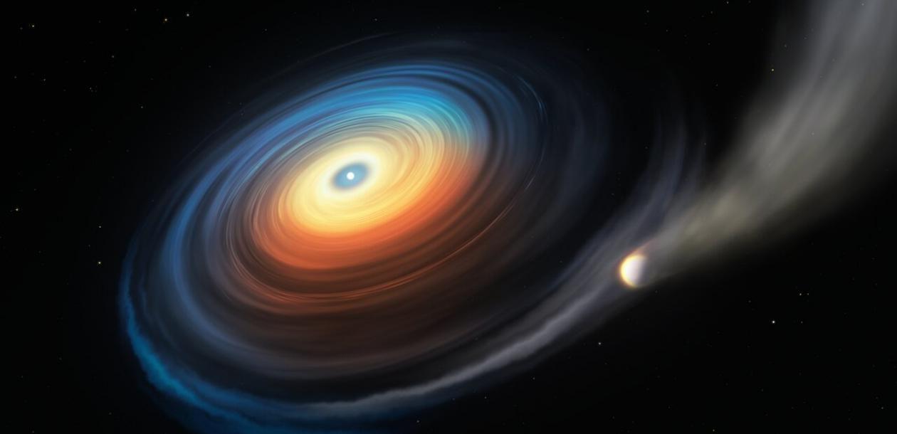 Une planète géante survivante près d'une naine blanche | Le blob, l'extra-média