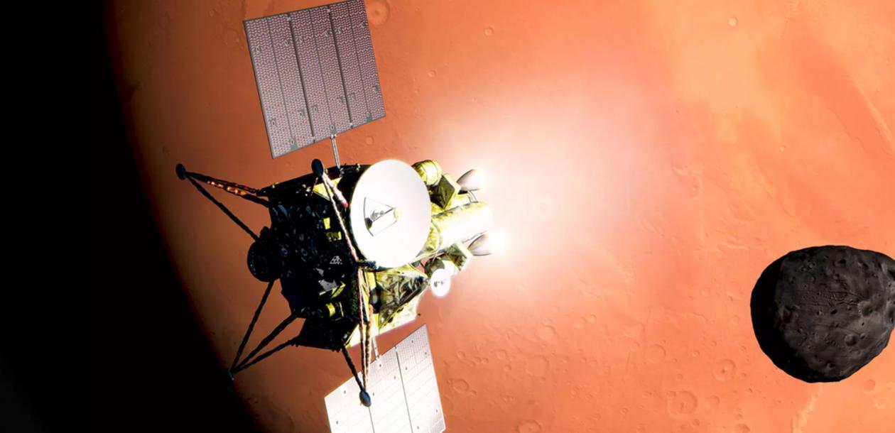 Une mission japonaise annoncée vers les deux satellites naturels de Mars   Le blob, l'extra-média