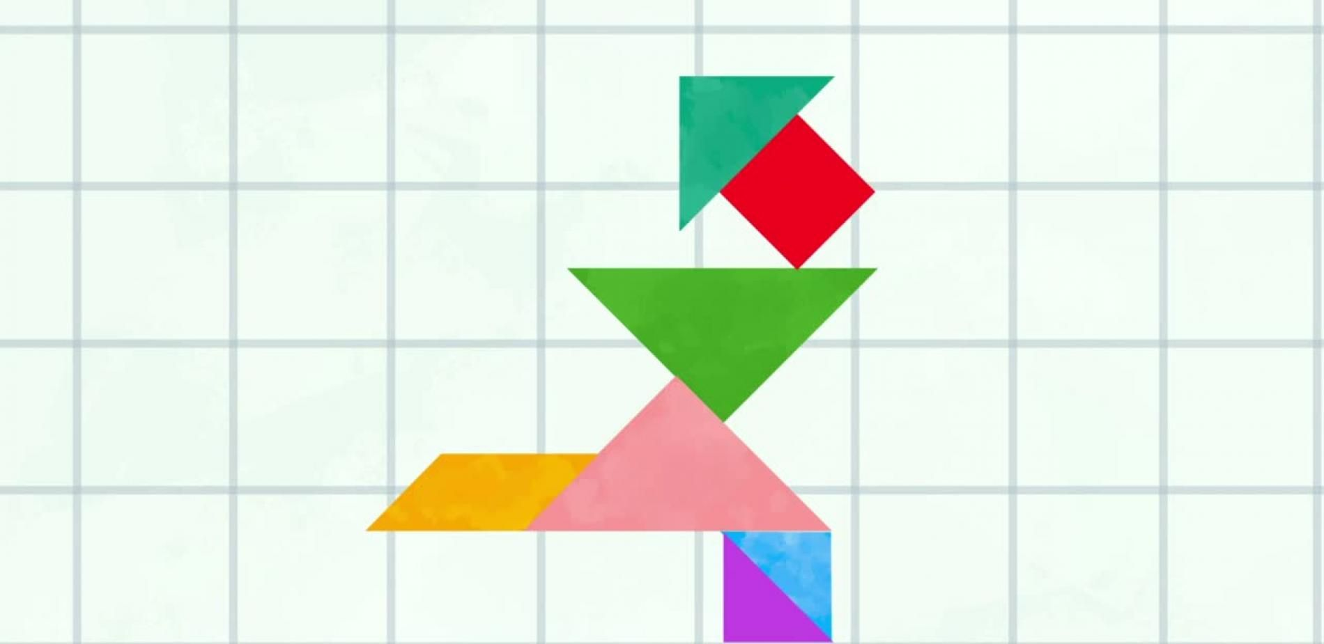 Dimension 2 : le tangram